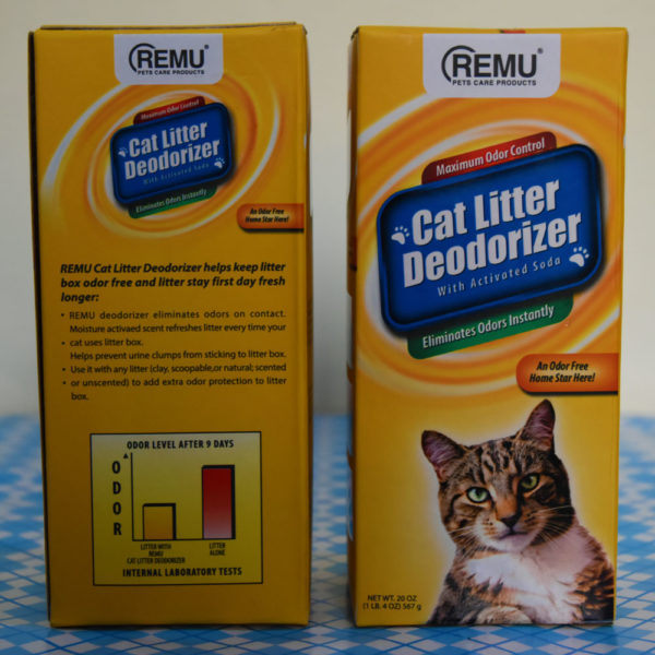 Remu Cat Litter Deodorizer with Activated Soda