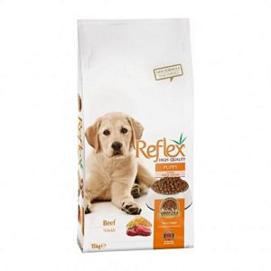 Reflex puppy dog food 3kg beef