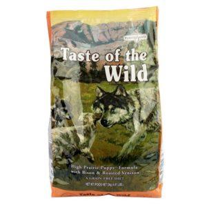 Taste Of The Wild – HIGH PRAIRIE PUPPY FORMULA
