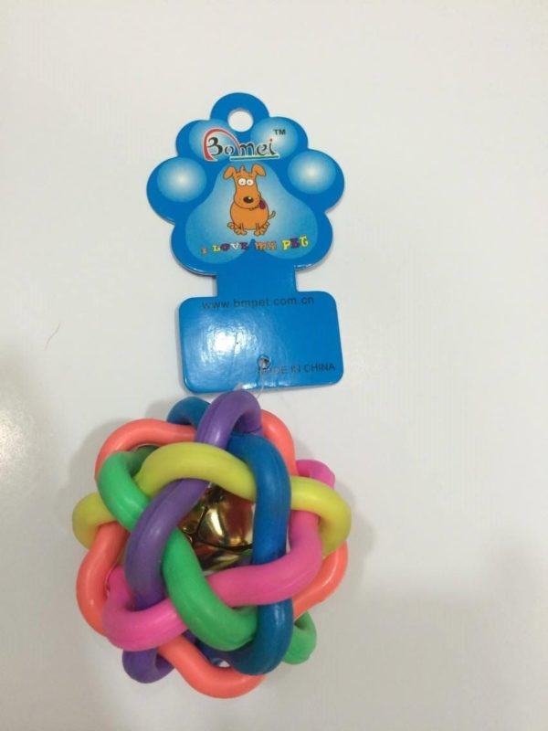 Colorful toy with bell