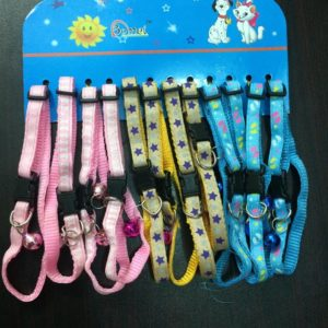 Nylon Cat Bell Collar
