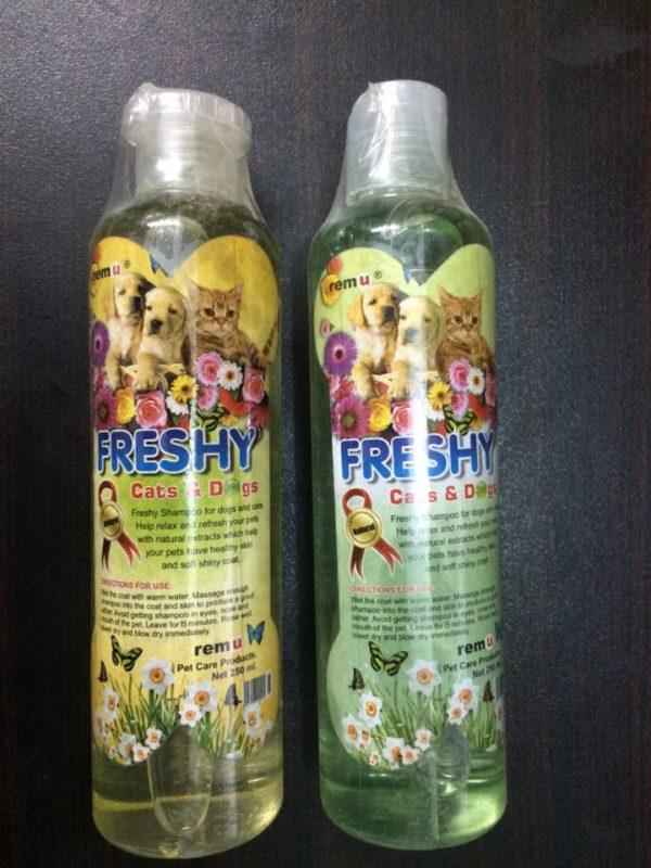 Remu Freshy Dogs and Cat Shampoo