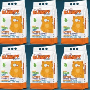 6 Value Klumpy Cat Litter Deal