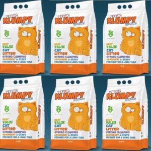 6 Value Klumpy Cat Litter Deal