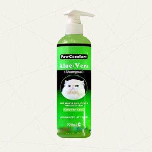 Paw Comfort Aloe Vera Shampoo for Cats