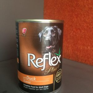 Reflex plus Dog Tin food-Duck