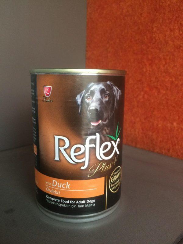 Reflex plus Dog Tin food-Duck