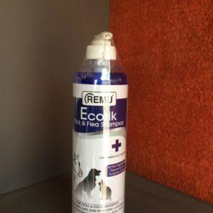 Remu Ecotik shampoo for ticks and fleas