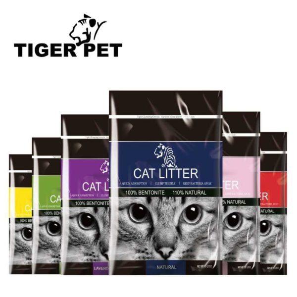 Tiger Cat Litter