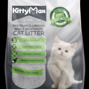 Kitty Max cat litter Natural Unscented