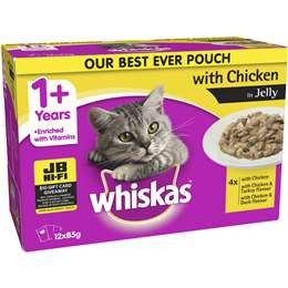 Whiskas Chicken jelly-Gravy