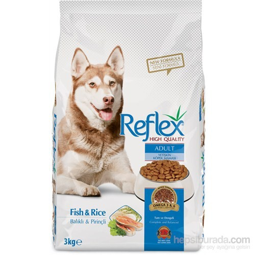 Reflex Adult Dog Food Fish and Rice