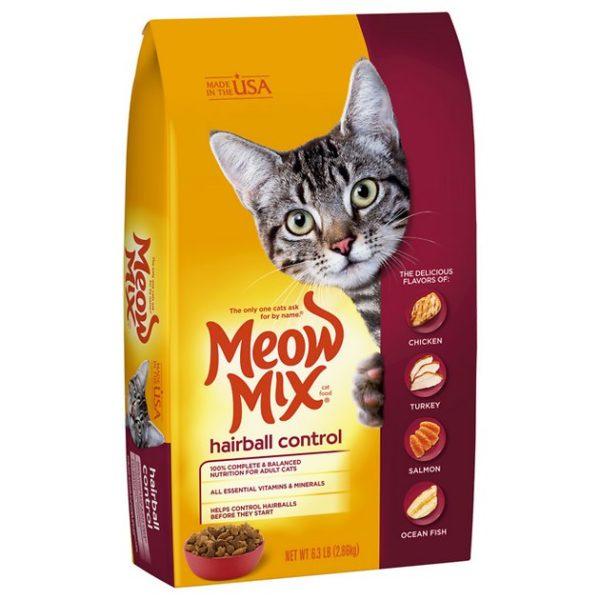 Meow Mix Hairball Control