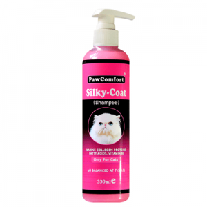 PawComfort Silky Coat Shampoo for Cats