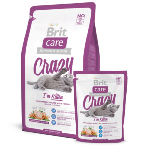 Brit Care Crazy Kitten Food