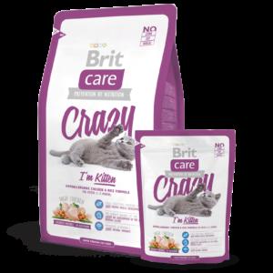 Brit Care Crazy Kitten Food