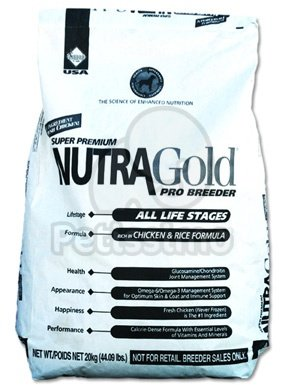 Nutragold Pro Breeder – Chicken & Rice Formula – 20Kg