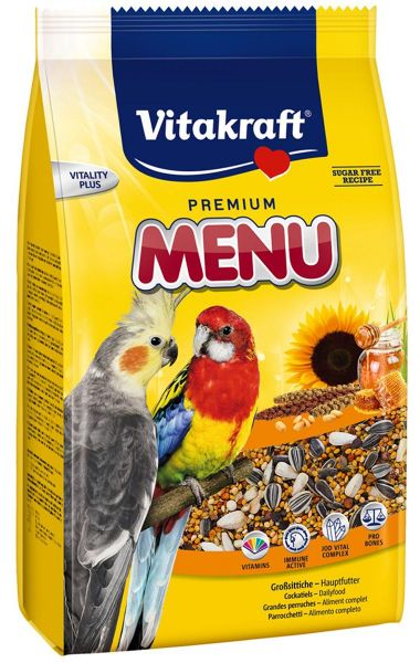 Vitakraft Premium Menu for Parakeets