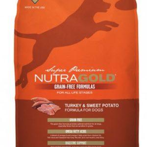 Nutragold Dog Food – TURKEY & SWEET POTATO