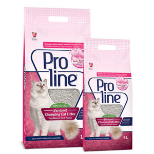 Proline Natural Clumpy Baby Powder Fragrant Cat Litter