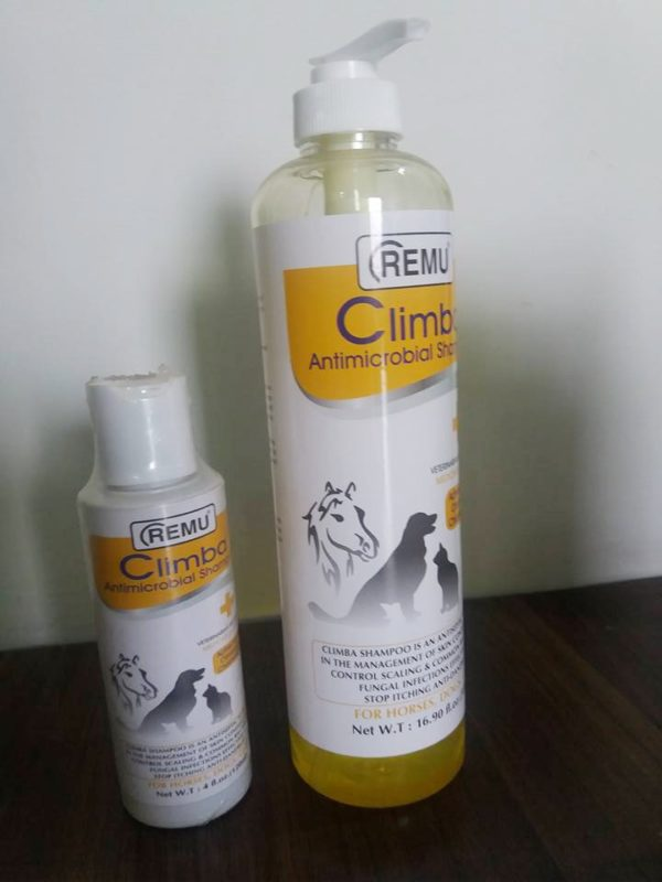 Remu Climba Antimicrobial Shampoo for Cats and Dogs