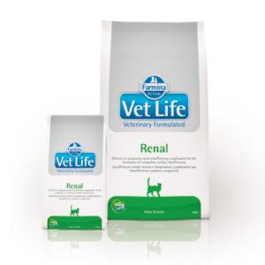 Farmina Vet Life Feline – Renal 2 KG