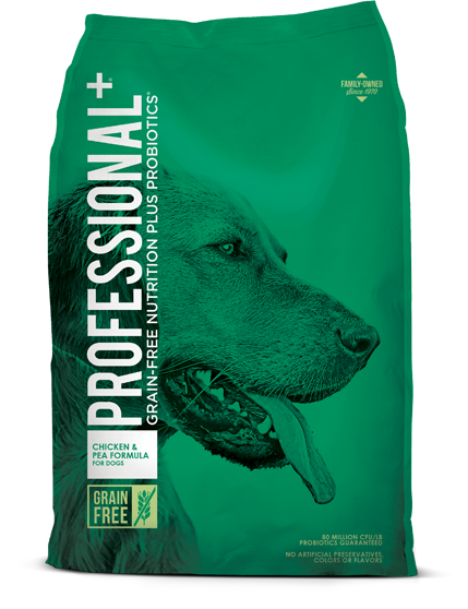 professional chicken n pea formula for dogs