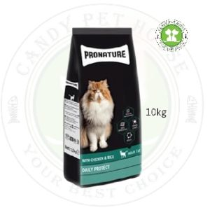 PRONATURE CAT FOOD CHICKEN & RICE FOR HAIR & SKIN CARE
