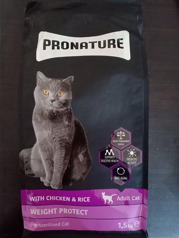 PRONATURE Cat food chicken & rice flavour