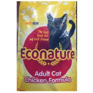 Econature Adult cat food chicken flavor