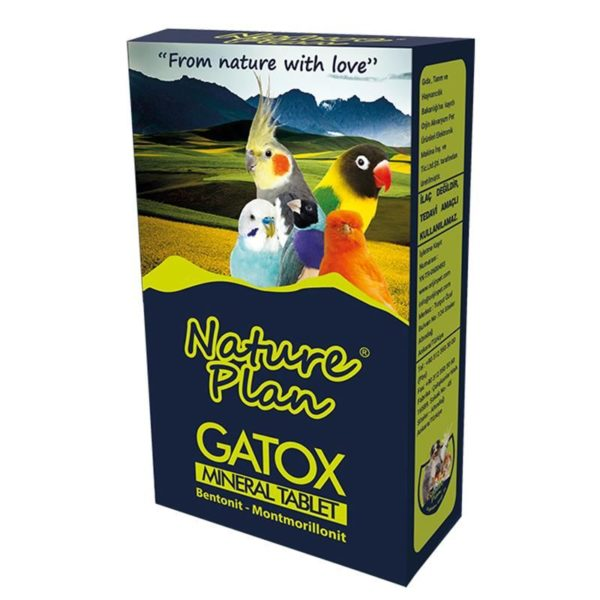 Nature plan Gatox mineral tablet for birds
