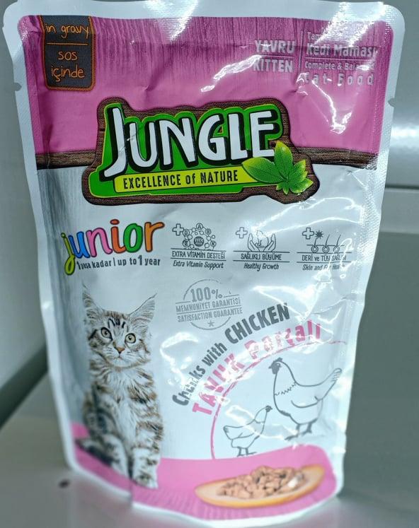JUNGLE WET FOOD KITTEN