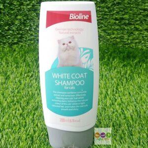 Bioline White Coat Shampoo for Cats