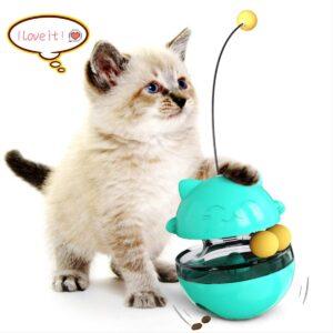 TUMBLER CAT TREAT BALL TOY