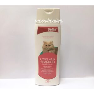 Bioline Long Hair Shampoo for cats