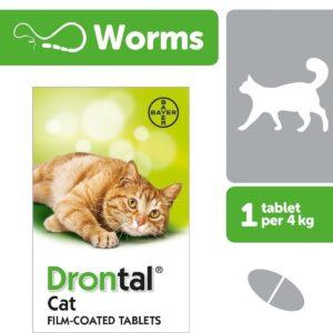 DRONTAL CAT DEWORMING TABLET
