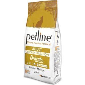 PETLINE ADULT CAT FOOD CHICKEN FLAVOUR