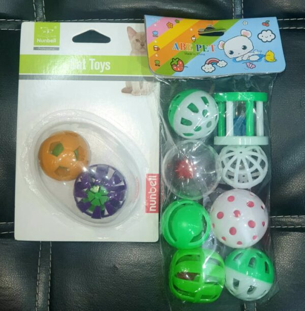 PET PLAY BALLS SET