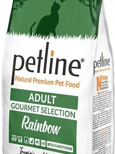 PETLINE ADULT CAT FOOD GOURMET SELECTION