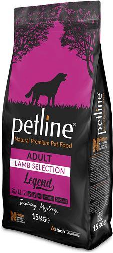 PETLINE ADULT DOG FOOD LAMB FLAVOUR