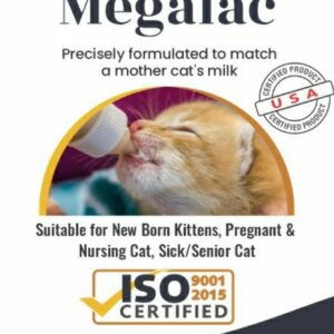 MEGALAC premium milk replacer for KITTTENS
