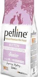 PETLINE KITTEN FOOD CHICKEN FLAVOUR