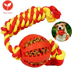 DOD ROPE AND BALL TOY