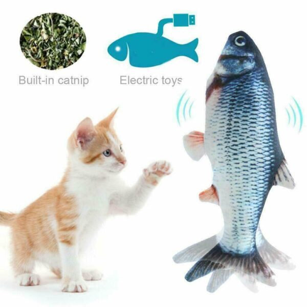 ELECTRIC FISH TOY FOR PETS
