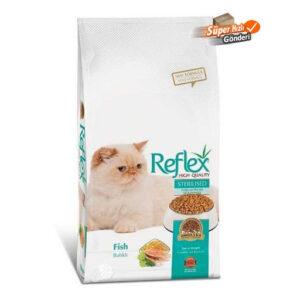 REFLEX STERLISED CAT FOOD-FISH FLAVOUR