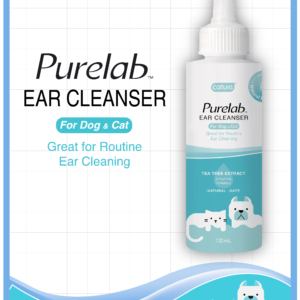 PURELAB EAR CLEANSER FOR DOGS and CATS