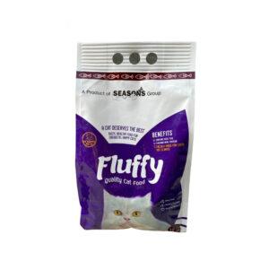 FLUFFY CAT FOOD