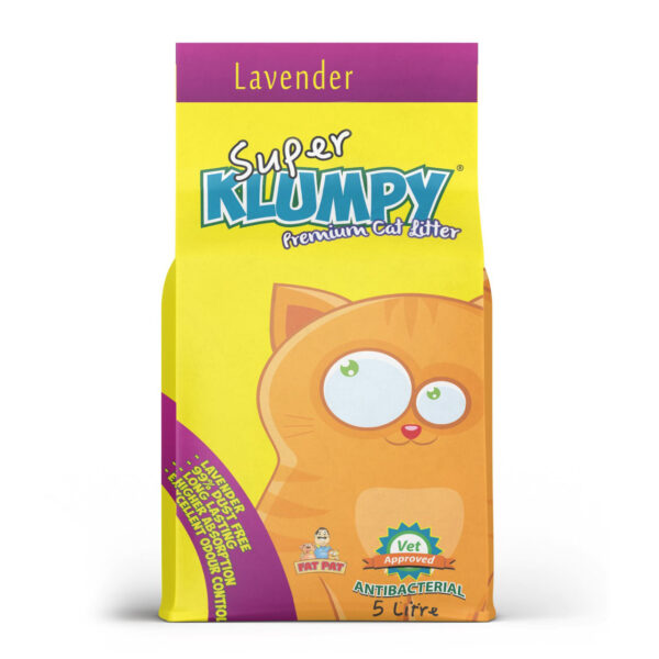KLUMPY CAT LITTER LAVENDER