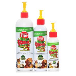 Ultra-Bitter Spray for stop chewing Dogs & Cats & birds