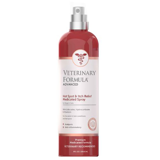 Veterinary Formula Advanced Hot Spot & ITCH RELEIF Spray dogs and cats 236ml